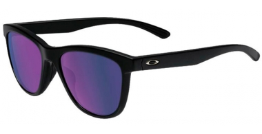 Gafas de Sol - Oakley - MOONLIGHTER OO9320 - 9320-09 MATTE BLACK // VIOLET IRIDIUM POLARIZED