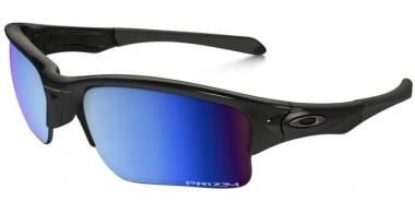 Gafas de Sol - Oakley - QUARTER JACKET OO9200 - 9200-16 POLISHED BLACK // PRIZM DEEP H20 POLARIZED