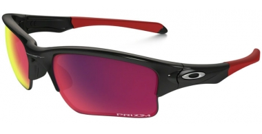 Gafas de Sol - Oakley - QUARTER JACKET OO9200 - 9200-18 POLISHED BLACK // PRIZM ROAD