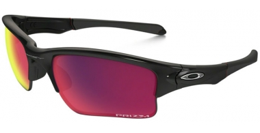 Gafas de Sol - Oakley - QUARTER JACKET OO9200 - 9200-25 POLISHED BLACK // PRIZM FIELD
