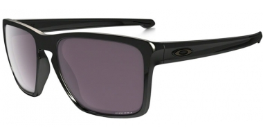 Sunglasses - Oakley - SLIVER XL OO9341 - 9341-06 POLISHED BLACK // PRIZM DAILY POLARIZED