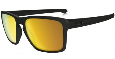 Sunglasses - Oakley - SLIVER XL OO9341 - 9341-07 MATTE BLACK // 24K IRIDIUM