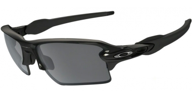 Gafas de Sol - Oakley - FLAK 2.0 XL OO9188 - 9188-52 POLISHED BLACK // BLACK IRIDIUM
