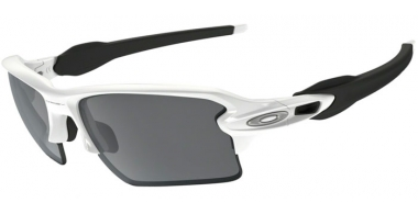 Gafas de Sol - Oakley - FLAK 2.0 XL OO9188 - 9188-54 POLISHED WHITE // BLACK IRIDIUM