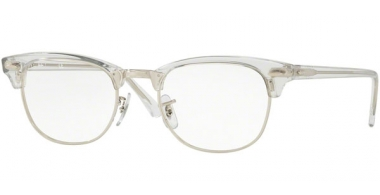 Frames - Ray-Ban® - RX5154 CLUBMASTER - 2001 WHITE TRANSPARENT