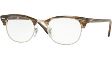 Frames - Ray-Ban® - RX5154 CLUBMASTER - 5749 BROWN GREY STRIPPED