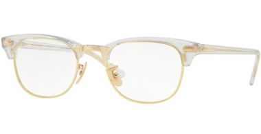 Frames - Ray-Ban® - RX5154 CLUBMASTER - 5762 TRANSPARENT
