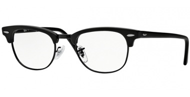 Frames - Ray-Ban® - RX5154 CLUBMASTER - 2077 MATTE BLACK