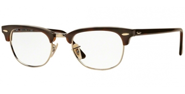 Frames - Ray-Ban® - RX5154 CLUBMASTER - 2372 RED HAVANA
