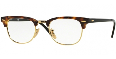 Frames - Ray-Ban® - RX5154 CLUBMASTER - 5494 BROWN HAVANA