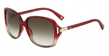 Sunglasses - Dior - DIORSYMBOL1 - P83 (DB) RED BEIGE // BROWN GREY GRADIENT