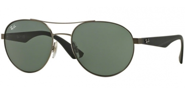 Sunglasses - Ray-Ban® - Ray-Ban® RB3536 - 029/71 MATTE GUNMETAL // GREY GREEN