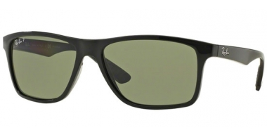 Gafas de Sol - Ray-Ban® - Ray-Ban® RB4234 - 601/9A BLACK // GREEN POLARIZED