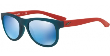 Gafas de Sol - Arnette - AN4222 CLASS ACT - 241755 MATTE TRANSPARENT BLUE // BLUE MIRROR BLUE