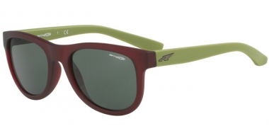 Gafas de Sol - Arnette - AN4222 CLASS ACT - 241871 MATTE TRANSPARENT BORDEAUX // GREY GREEN