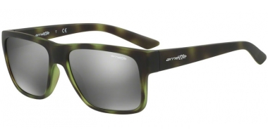 Sunglasses - Arnette - AN4226 RESERVE - 24286G GREEN HAVANA RUBBER // GREY MIRROR SILVER