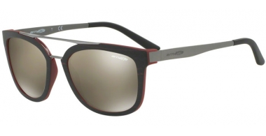 Gafas de Sol - Arnette - AN4232 JUNCTURE - 24295A BRUSH MATTE BORDEAUX MATTE BORDEAUX // LIGHT BROWN MIRROR DARK GOLD
