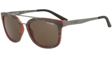 Gafas de Sol - Arnette - AN4232 JUNCTURE - 243073 BRUSH MATTE BROWN MATTE ORANGE // BROWN