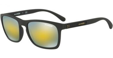 Gafas de Sol - Arnette - AN4236 BURNSIDE - 01/8N MATTE BLACK // MIRROR GREEN GOLD