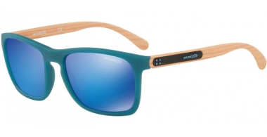 Gafas de Sol - Arnette - AN4236 BURNSIDE - 245625 MATTE TURQUOISE // GREEN MIRROR LIGHT BLUE