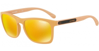 Gafas de Sol - Arnette - AN4236 BURNSIDE - 2457N0 MATTE MUSTARD // BROWN ORANGE 24K IRIDIUM