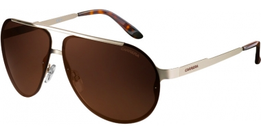 Sunglasses - Carrera - CARRERA 90/S - CGS  (LC) LIGHT GOLD STEEL METAL // BROWN GOLD ANTIREFLECTION