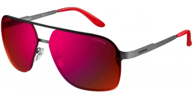 Gafas de Sol - Carrera - CARRERA 91/S - R80  (CP) STEEL METAL DARK RUTHENIUM // GREY INFRARED