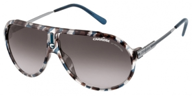 Gafas de Sol - Carrera - ENDURANCE/SML/G - XEP (ZU) BLUE HAVANA RUTHENIUM // BROWN GREY GRADIENT
