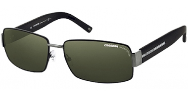 Gafas de Sol - Carrera - GLOBETROTTER 4 - S9B (QT) BLACK DARK RUTHENIUM // GREEN
