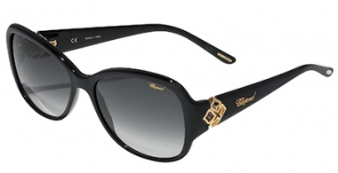 Sunglasses - Chopard - SCH131 - 0700 BLACK // SMOKE GRADIENT