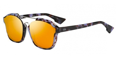 Gafas de Sol - Dior - DIORABSTRACT - YH0 (A1) HAVANA MAUVE // ORANGE MIRROR