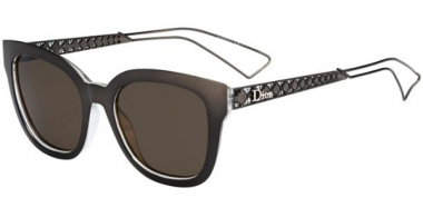 Sunglasses - Dior - DIORAMA1 - TGT (EJ) GREY CRYSTAL // BROWN