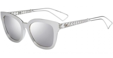 Sunglasses - Dior - DIORAMA1 - TGU (DC) SILVER PALLADIUM // EXTRA WHITE MULTILAYER