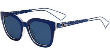 Sunglasses - Dior - DIORAMA1 - TGV (KU) BLUE CRYSTAL // BLUE GREY