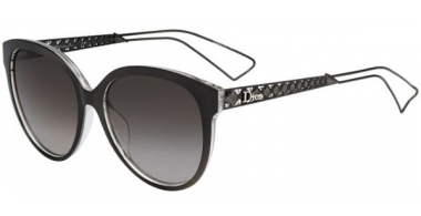 Sunglasses - Dior - DIORAMA2 - TGT (HA) GREY CRYSTAL // BROWN GRADIENT