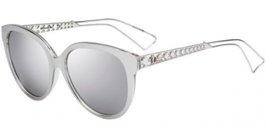 Sunglasses - Dior - DIORAMA2 - TGU (DC) SILVER PALLADIUM // EXTRA WHITE MULTILAYER