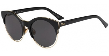 Sunglasses - Dior - DIORSIDERAL1 - J63 (Y1) BLACK ROSE GOLD // GREY