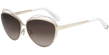 Sunglasses - Dior - DIORSONGE - JQO  (HA)  WHITE GOLD // BROWN GRADIENT