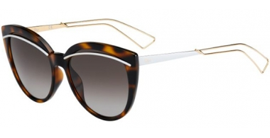 Sunglasses - Dior - DIORLINER - UGM (HA) HAVANA ROSE GOLD // BROWN GRADIENT