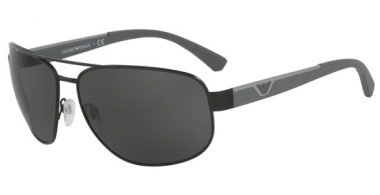 Sunglasses - Emporio Armani - EA2036 - 300187 MATTE BLACK // GREY