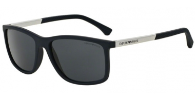 Sunglasses - Emporio Armani - EA4058 - 547487 BLUE RUBBER // GREY