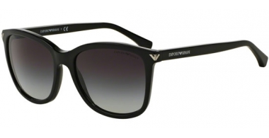 Sunglasses - Emporio Armani - EA4060 - 50178G BLACK // GREY GRADIENT