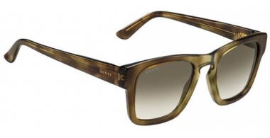 Sunglasses - Gucci - Ofertas especiales - GG 3791/S - OHO (DB) LIGHT HAVANA BROWN // BROWN GREY GRADIENT