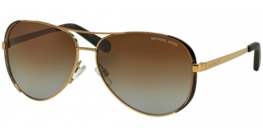 Sunglasses - Michael Kors - MK5004 CHELSEA - 1014T5 GOLD DARK CHOCOLATE BROWN // BROWN GRADIENT POLARIZED