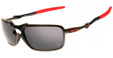 Gafas de Sol - Oakley - BADMAN OO6020 - 6020-07 DARK CARBON // BLACK IRIDIUM POLARIZED