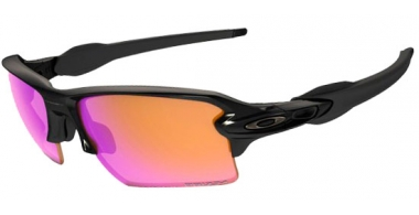Gafas de Sol - Oakley - FLAK 2.0 XL OO9188 - 9188-06 POLISHED BLACK // PRIZM TRAIL