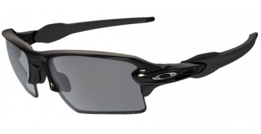 Gafas de Sol - Oakley - FLAK 2.0 XL OO9188 - 9188-08 POLISHED BLACK // BLACK IRIDIUM POLARIZED