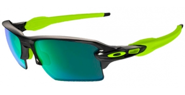 Gafas de Sol - Oakley - FLAK 2.0 XL OO9188 - 9188-09 BLACK INK // JADE  IRIDIUM POLARIZED
