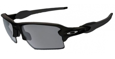 Gafas de Sol - Oakley - FLAK 2.0 XL OO9188 - 9188-12 MATTE BLACK // CHROME  IRIDIUM POLARIZED