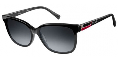 Sunglasses - Pierre Cardin - P.C. 8432/S - 807 (44) BLACK // DARK GREY GRADIENT